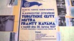 75 let otevření Kavánovy cesty.