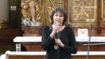 Benefiční koncert Marty Kubišové v hlineckém kostele.