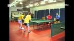 Stolní tenis neregistrovaných.