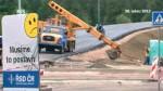 Výstavba mostu v T. Kamenici si vyžádá objížďku přes Hlinsko.