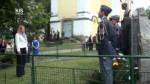 Pomník obětem holocaustu a příslušníkům RAF