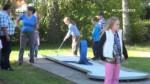 Klub Pohoda a DDM uspořádaly turnaj v minigolfu