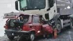 Tragická dopravní nehoda u Krouny