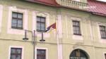 Vlajka pro Tibet v Hlinsku
