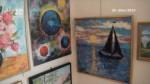 Výstava obrazů malířů Vysočiny