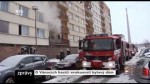 Na druhý svátek vánoční hasiči evakuovali bytový dům