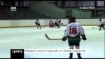 Hokejové žactvo bojovalo se silným soupeřem