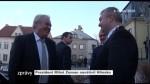 Prezident Miloš Zeman navštívil Hlinsko