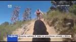 Hlinecký cyklista F. Adel na prestižním závodě v Africe