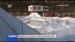 Nafukovací tenisová hala demontována