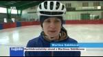 Rychlobruslařský závod s Martinou Sáblíkovou