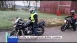 Zkoušky na motocykly jako jediné v regionu