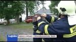Požární cvičení v trhovokamenické škole