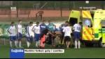 Nedělní fotbal: góly i sanitka
