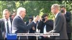 Prezident navštívil Rváčov a Svobodné Hamry