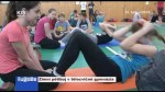 Zimní pětiboj v tělocvičně gymnázia