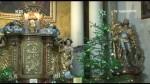 Hlinecký kostel o Vánocích
