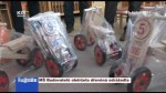 MŠ Budovatelů obdržela dřevěná odrážedla