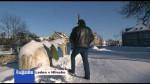 Leden v Hlinsku