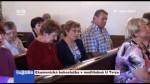 Ekumenická bohoslužba v modlitebně U Tvrze