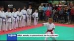 Oddíl karate se prezentoval na dětském dni