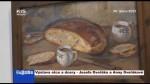 Výstava otce a dcery – Josefa Dvořáka a Anny Dvořákové