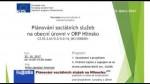 Plánování sociálních služeb na Hlinecku