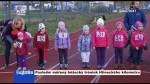 Poslední měřený běžecký trénink Hlineckého kilometru