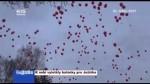 K nebi vyletěly balónky pro Ježíška