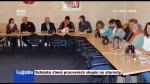 Schůzka členů pracovních skupin se starosty
