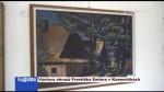 Výstava obrazů Františka Emlera v Kameničkách