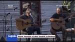 Slávek Janoušek a Luboš Vondrák na Betlémě