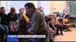Viktor Čahoj opět na gymnáziu