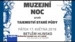 20/2019 Betlémská muzejní noc už v pátek