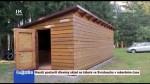 35/2020 Hasiči postavili dřevěný sklad na táboře ve Svratouchu v rekordním čase
