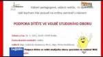 03/2021 Podpora dítěte ve volbě studijního oboru  pozvánka na webinář MAS
