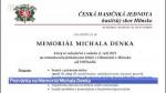34/2021 Pozvánka na Memoriál Michala Denka